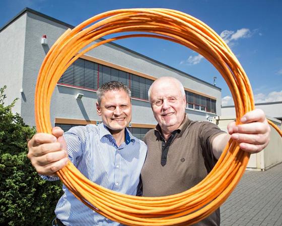 Bernd Engst (r.) und Uwe Sprößig